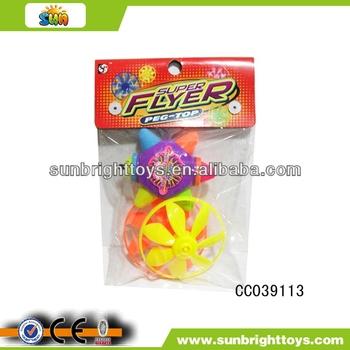Flashing five-star shape peg top