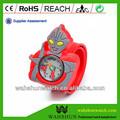 cute design 3d ultraman relógio tapa relógio para crianças