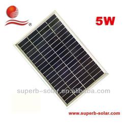 low price mini solar panel 5w
