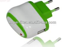 CE FCC 5v 2a tr-018 EU plug for phone power usb travel charger