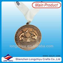 2012 london replica souvenir sport metal olympic ribbon medal