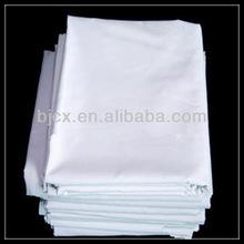 "poplin white t/c 80/20 45x45 110*76 57/58"" bleached fabric"