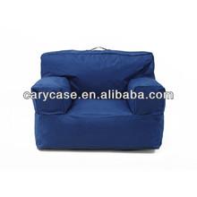 Navy blue bean bag armchairs, outdoor beanbag sofa seat