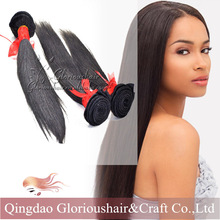 wholesale silky straight wave natural color peruvian hair weaving