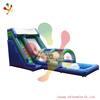Hot sale inflatable slide with water pool en14960