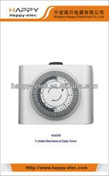 120V mechanical daily plug in timer