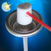 silicone aerosol valve aerosol can valve