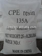 chlorinated polyethylene resin type CPE