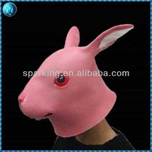 Halloween Costume Animal Latex Mask With Custom Design