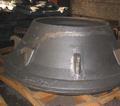 de gran tamaño de acero de arena de fundición de piezas para maquinaria pesada