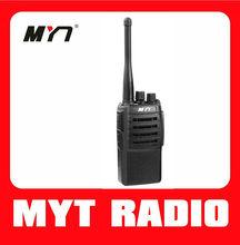 MYT-320 cheap handheld vhf uhf two way radio sets with long life battery