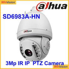 Dahua 100m infrared long distance 3mp ptz IPcam SD6983A-HN