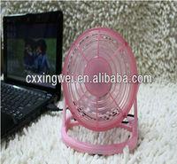 Notebook Laptop Computer Portable Super Mute PC USB Cooler Cooling Desk Mini Fan