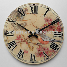 wholesale live bird for sale wall clock