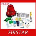 de alta calidad de la familia de emergencia kit de supervivencia mochila
