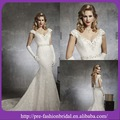 o mais novo estilo europeu decote em v nupcial sereia estilo country vestidos de noiva 2014