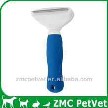 Pet Grooming Deshedding Tool, Deshedding Rake For Cats and Dogs, Dog Deshedding Rake