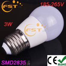Hot sale led light bulb pen 3W SMD2835 185-265V 240lm 180degree 13pcs