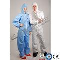 Venta al por mayor de colores protectivecustomised PP tela / SMS / PP + PE / Micro - porosa de trabajo sobretodo / ropa / ropa de trabajo