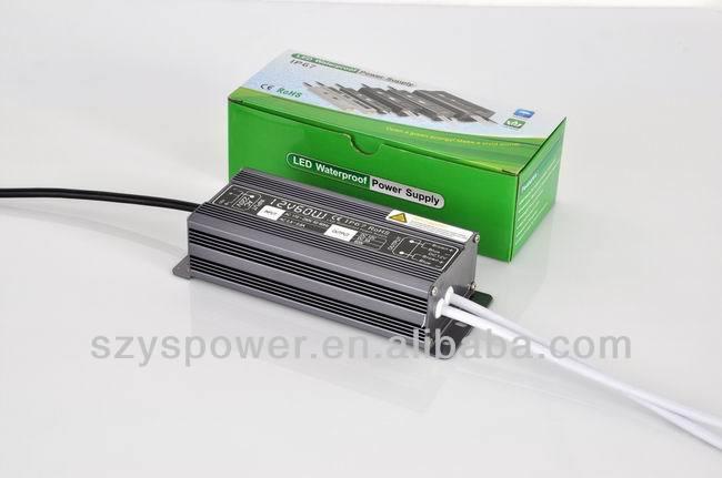 60w led driver ip65 led driver 12v 1500ma