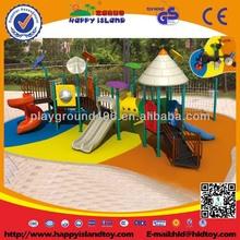outdoor playground machine with climb