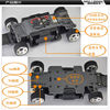 Firelap 1/28 scale 4wd mini z rc car mini types chassis