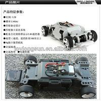 Firelap 1/28 scale 4wd mini z rc car mini chassis kits