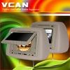 7inch Headrest monitor DVD Divx MP4 USB SD player joystick HAV-744