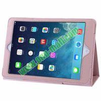 High Quality Litchi Pattern Leather Case for iPad Mini Retina