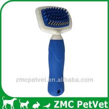 Pet Rake Bath Brush, rubber tipped brush,shower massage brush (XS)