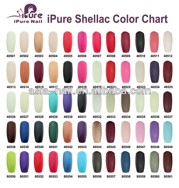 Opi Shellac Nail Polish Color Chart Rebellions