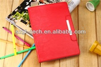 Custom business book case for ipad 5, for ipad 5 leather case