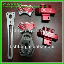 chinese good treatment aluminum metal auto parts combination