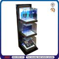 TSD-A029 magasin au détail étagère acrylique droite personnalisée 3 niveaux affichage cosmétique/affichage cosmétique/étagère acrylique pour produits cosmétiques