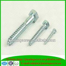 Manufactory din 571 hex wood screw