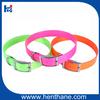 Reasonable price plastic webbing dog collars funny dog collar