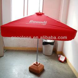 decorative coffee shop patio umbrella