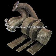 Titanium Heat Shield Thermal Exhaust Wrap