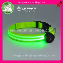 lighted dog collar/dog pet shock collar electric fence underground