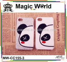 For samsung galaxy s3 cute panda style rhinestone mobile phone case