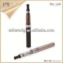 HWecig products popular atomizer electronic cigarette wholesale e cigarette ego-t+ce4/ce5 starter kit