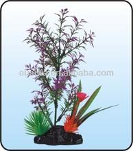 2014 Hight quanlity and cheap artificial aquarium plants.blown glass fish ornaments