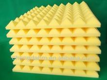 high density and high temperature sound absorbing polyurethane foam