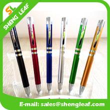 Metal pen likes plastic made bead ball pen