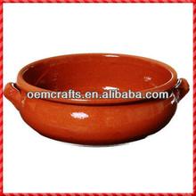 New design handmade glazed terracotta tableware wholesale