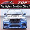 High Quality PU Body kits for BMW 2009-2014 X5 to X5M HM Style x5m HMV body kit
