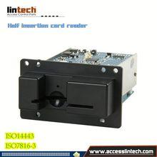 New Embed Manual insertion rfid card reader/hf rfid reader passived