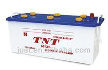 Top Selling Battery For Bus 12V Starting Dry Battery JIS Standard Lead Acid 12V135Ah OEM