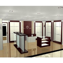 fashionable retail display furniture for clothes store