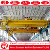 Smooth traveling reasonable price two beam heavy duty overhead crane for sale